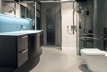 Example of a bathroom – your taste decides