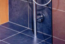 Floor-level shower systems